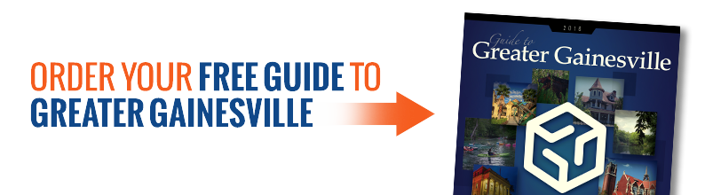 Guide to Greater Gainesville logo